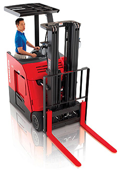 Used Stand Up Forklift