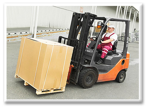 Internal Combustion Cushion Forklift