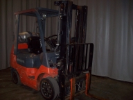 7FGCU25 Cushion Tire Counter Balanced Forklift