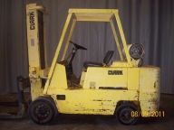 Clark C500-135 Cushion Tire Counter Balanced Forklift