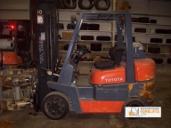 Toyota 6FGCU35 Cushion Tire Counter Balanced Forklift