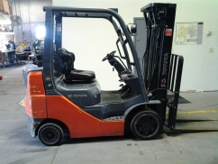 Toyota 8FGCU25 Cushion Tire Counter Balanced Forklift