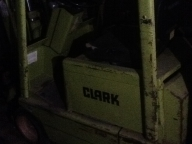 Clark TM15S Cushion Tire Counter Balanced Forklift