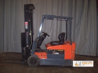Toyota 7FBEU20 Cushion Tire Counter Balanced Forklift